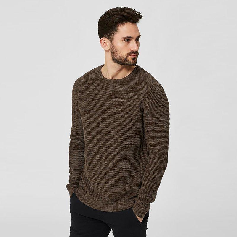 Jersey hombre tricot punto arroz vigoré