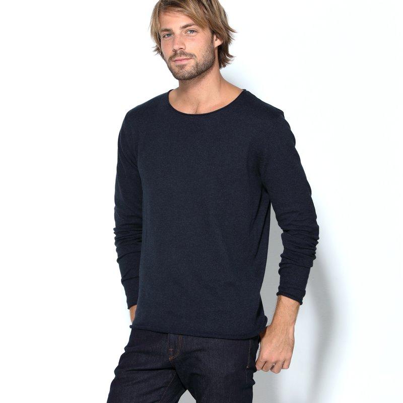 SELECTED - Jersey tricot con suave tacto de seda