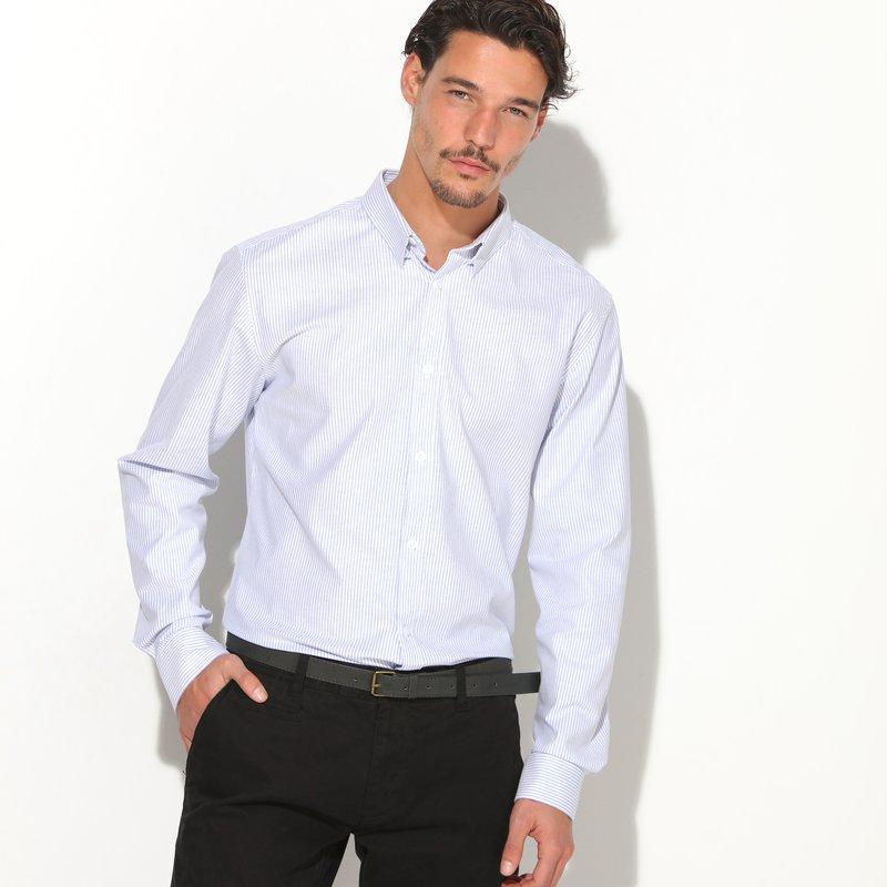 Camisa hombre elástico fácil planchado
