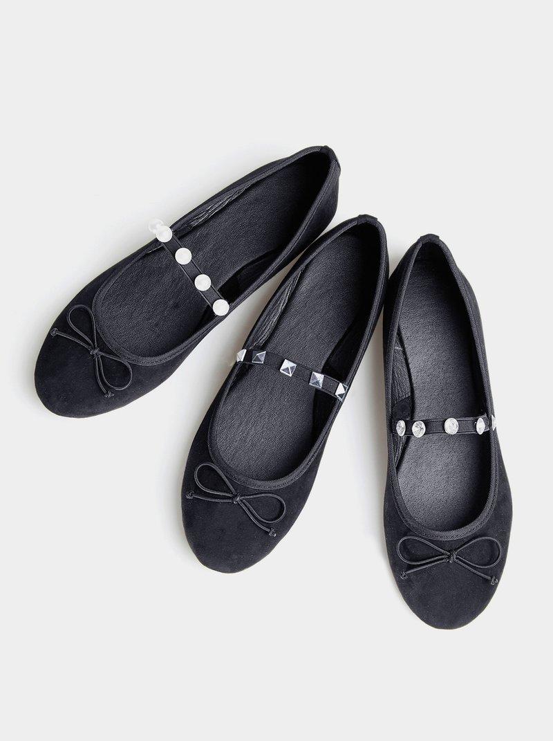 Zapatos planos bailarinas banda elástica