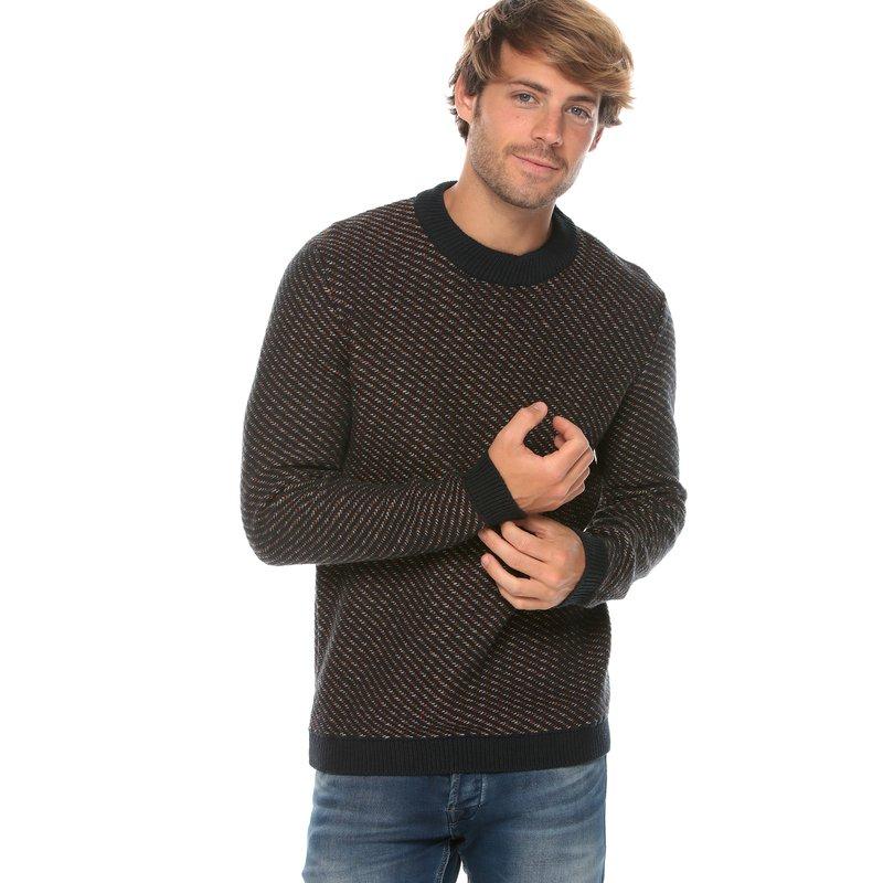SELECTED - Jersey de hombre tricot en punto fantasía