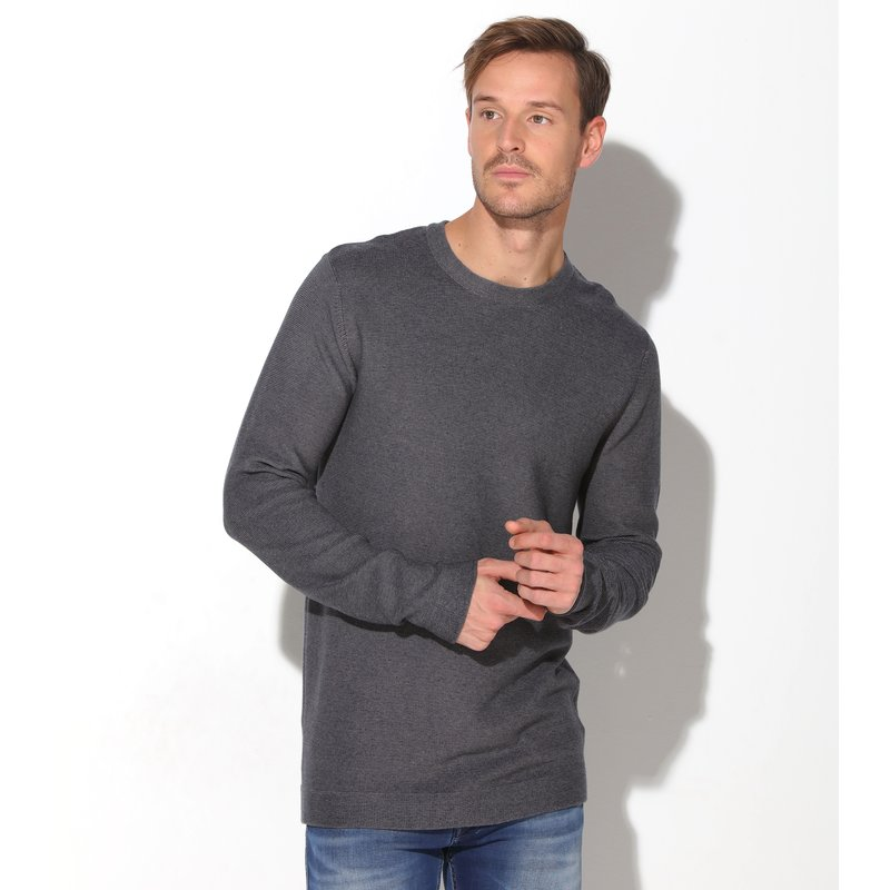 SELECTED - Jersey de hombre en punto tricot diseño