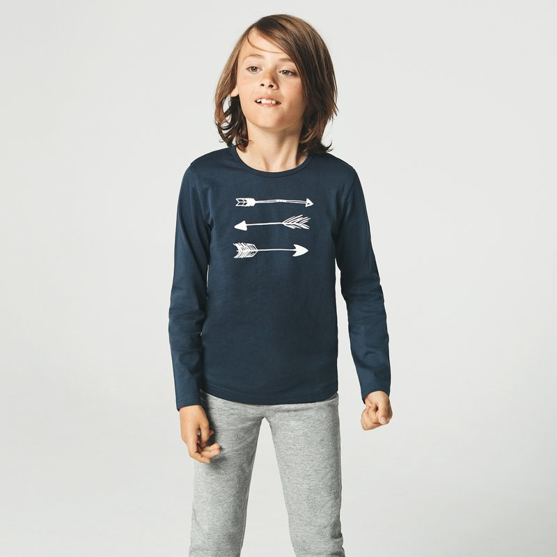 Pijama 2 piezas de niño estampado flechas