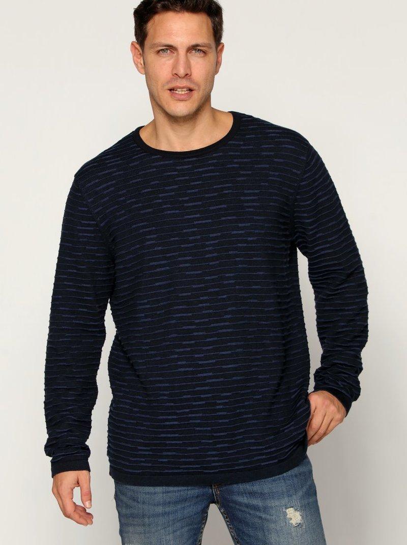 Jersey tricot fantasía jacquard