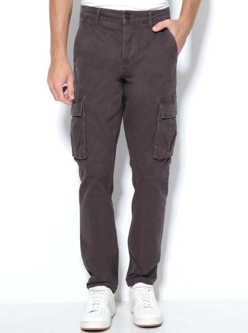 Pantalón largo hombre con bolsillos