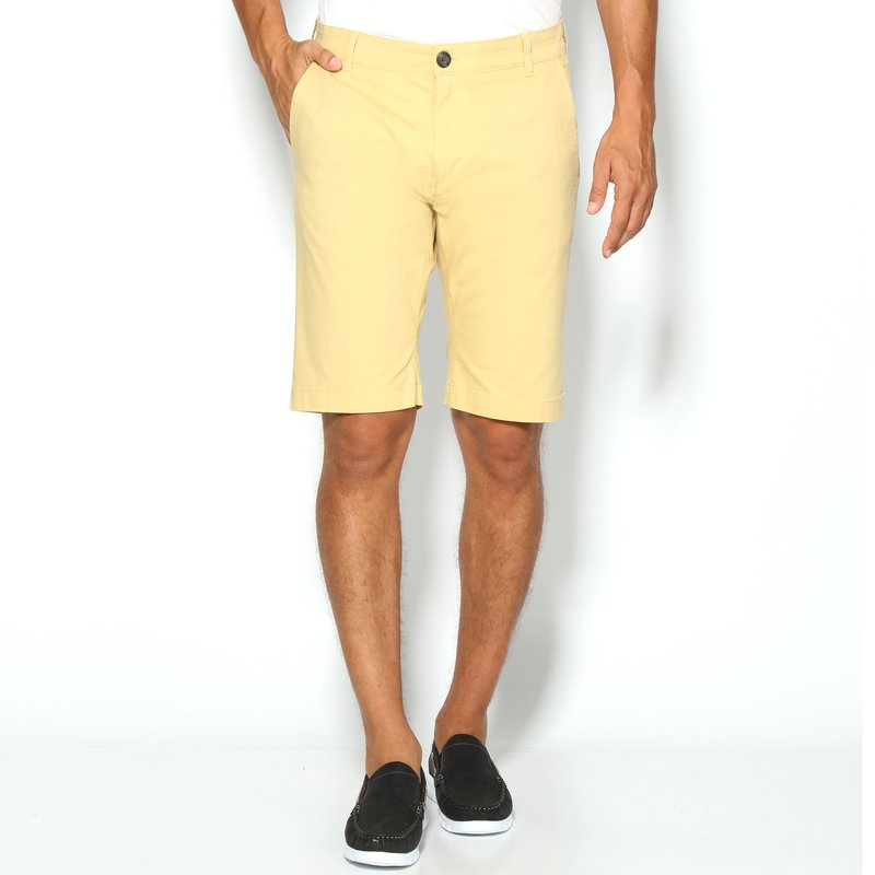 SELECTED - Pantalón chino elástico de gabardina