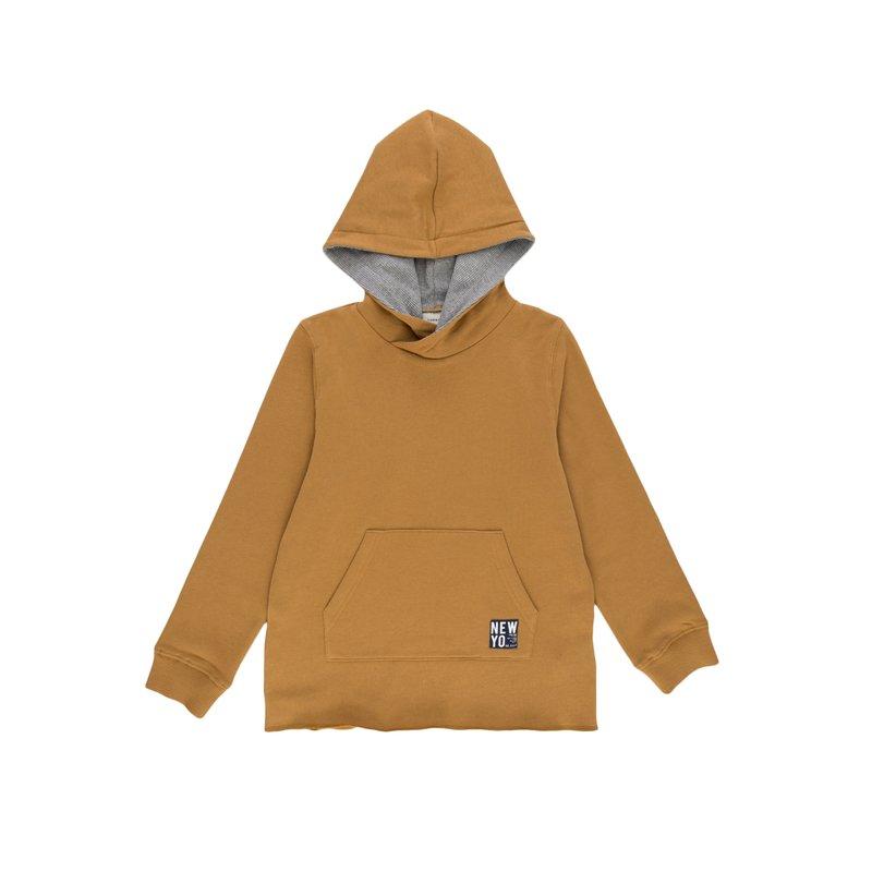 Sudadera infantil con capucha y bolsillo