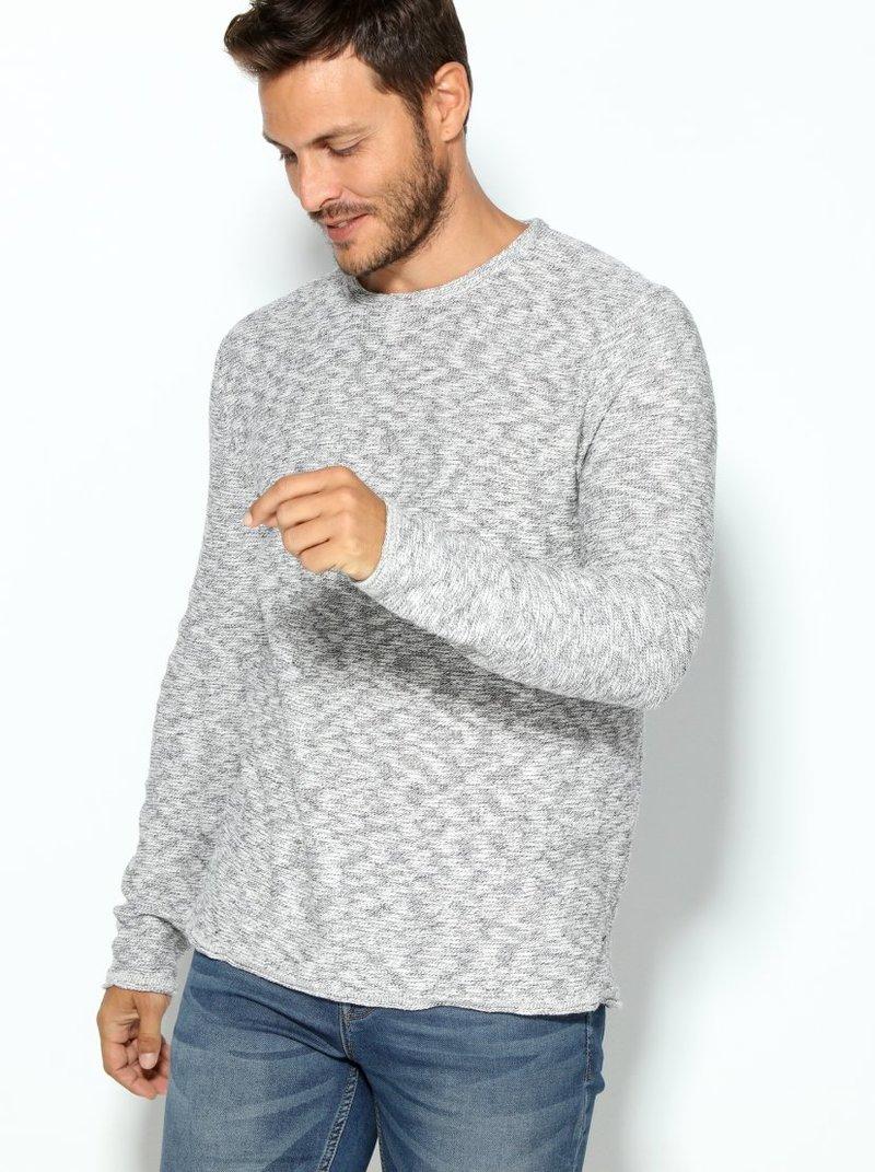 Jersey tricot jaspeado flamé 100 % algodón