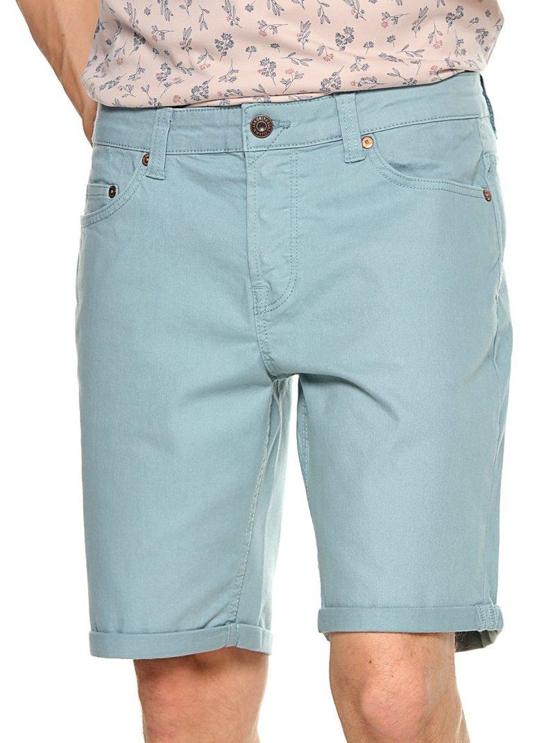 Pantalón bermuda de sarga 5 bolsillos