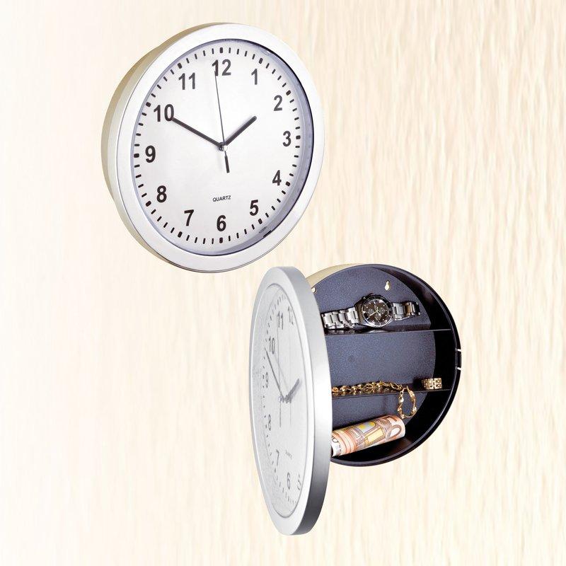 Reloj de pared con escondite para joyas
