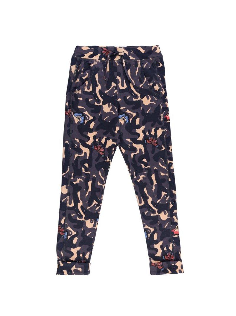 Pantalón felpa algodón orgánico camuflaje