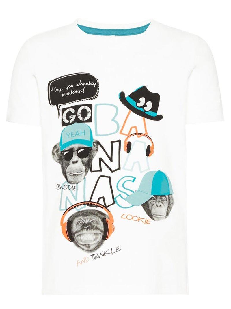 Camiseta algodón orgánico niño Mini print