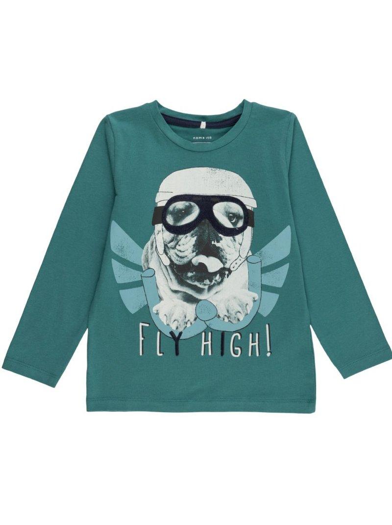 Camiseta infantil algodón orgánico print