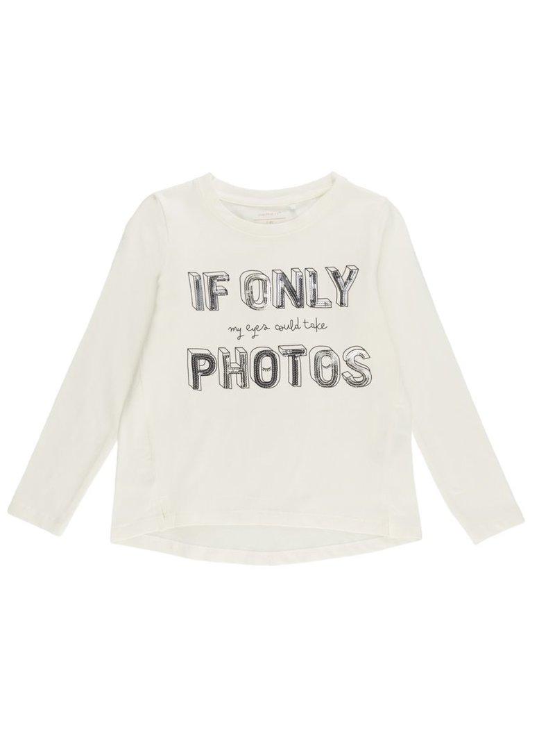 Camiseta algodón orgánico lentejuelas