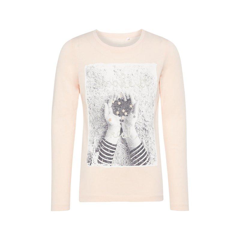 Camiseta niña algodón orgánico estampado foto