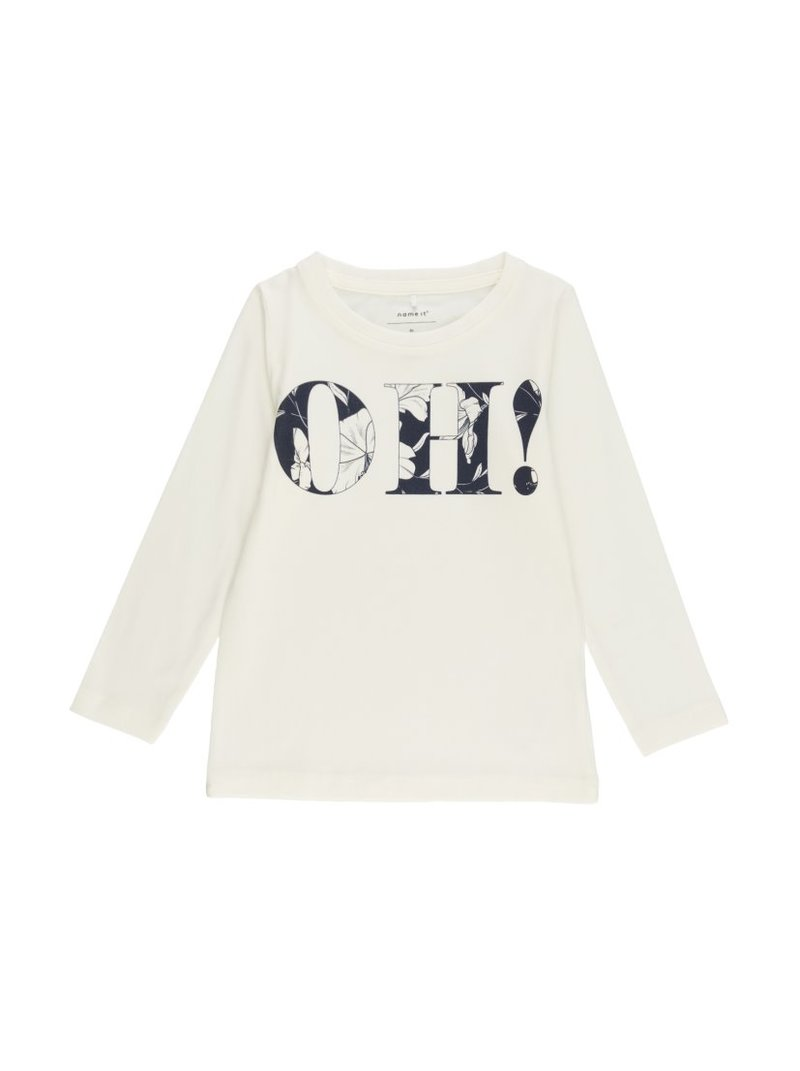 Camiseta niña manga larga hibiscus