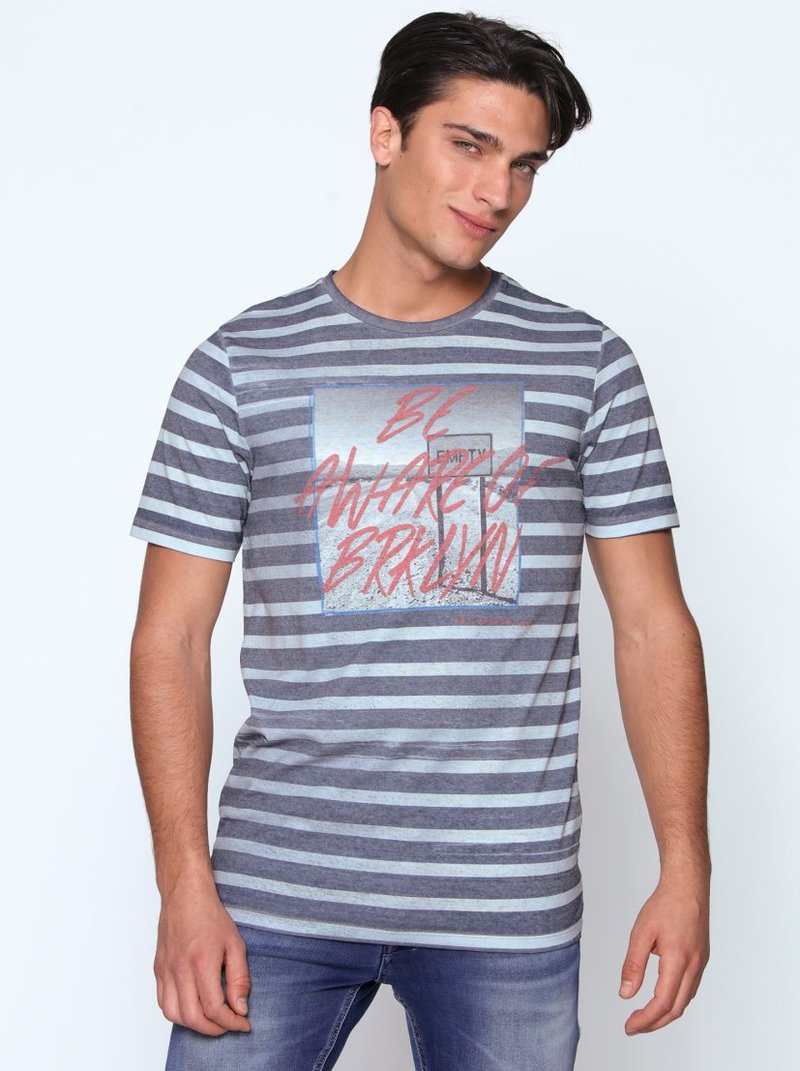 Camiseta manga corta print frontal