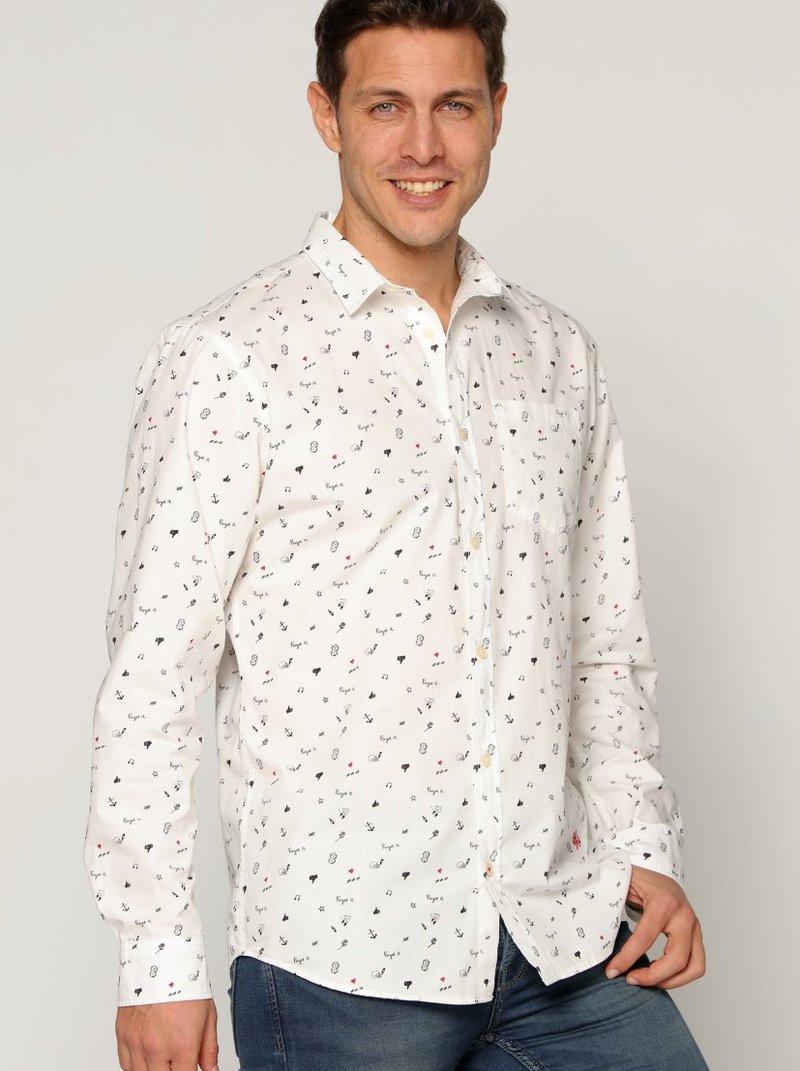 Camisa hombre pequeños estampados