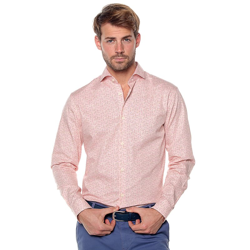 Camisa manga larga topitos slim fit