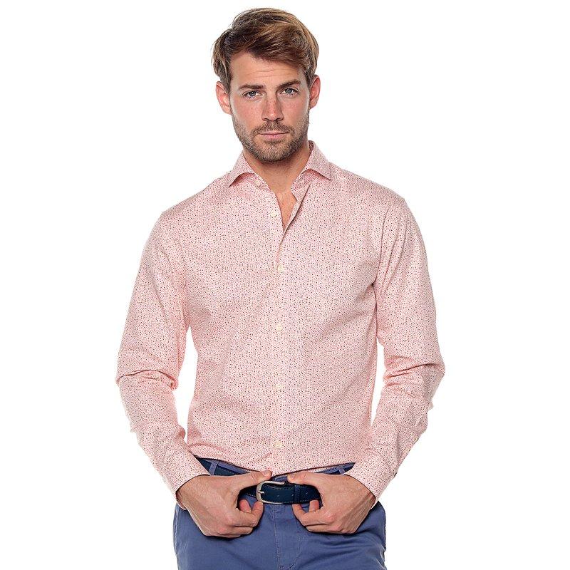 SELECTED - Camisa manga larga topitos slim fit