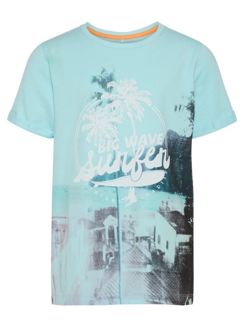 Camiseta de niño con estampado surfero