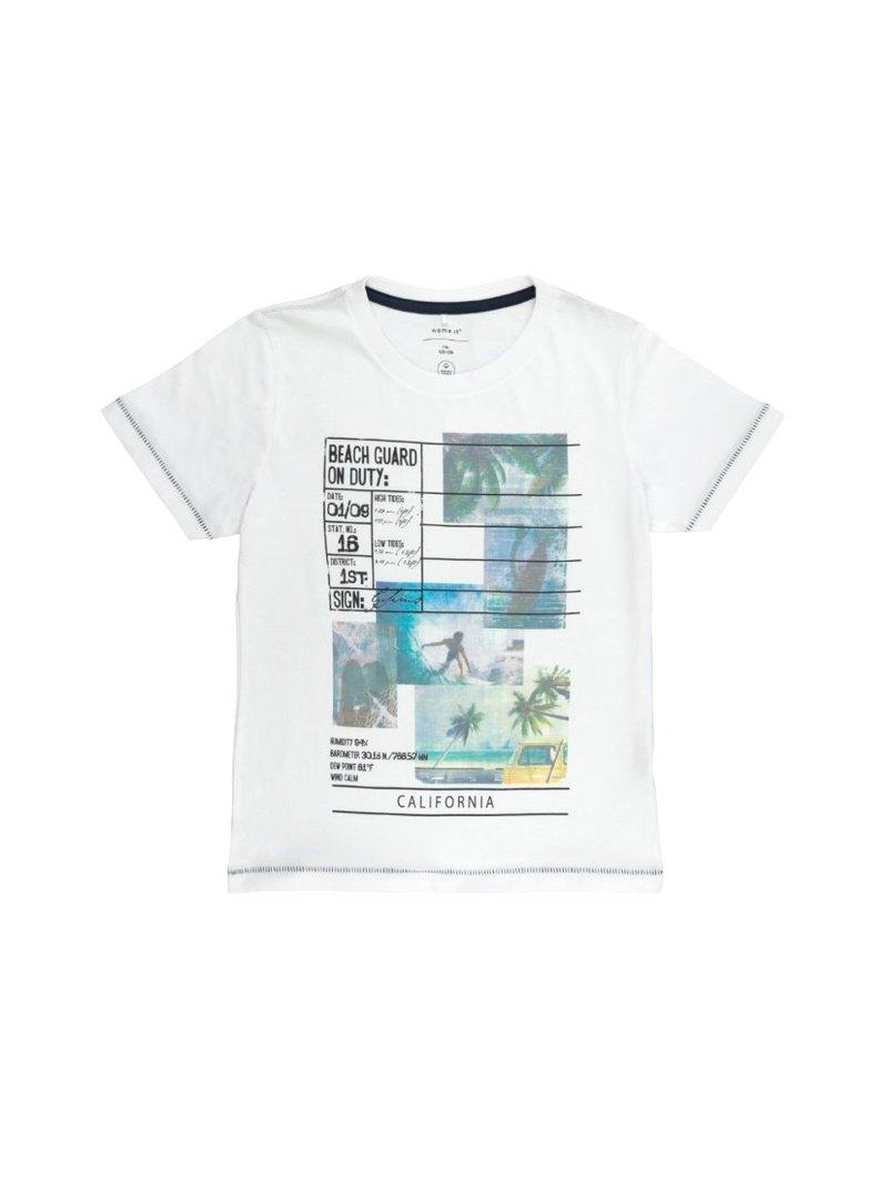Camiseta estampado vigilantes de la playa