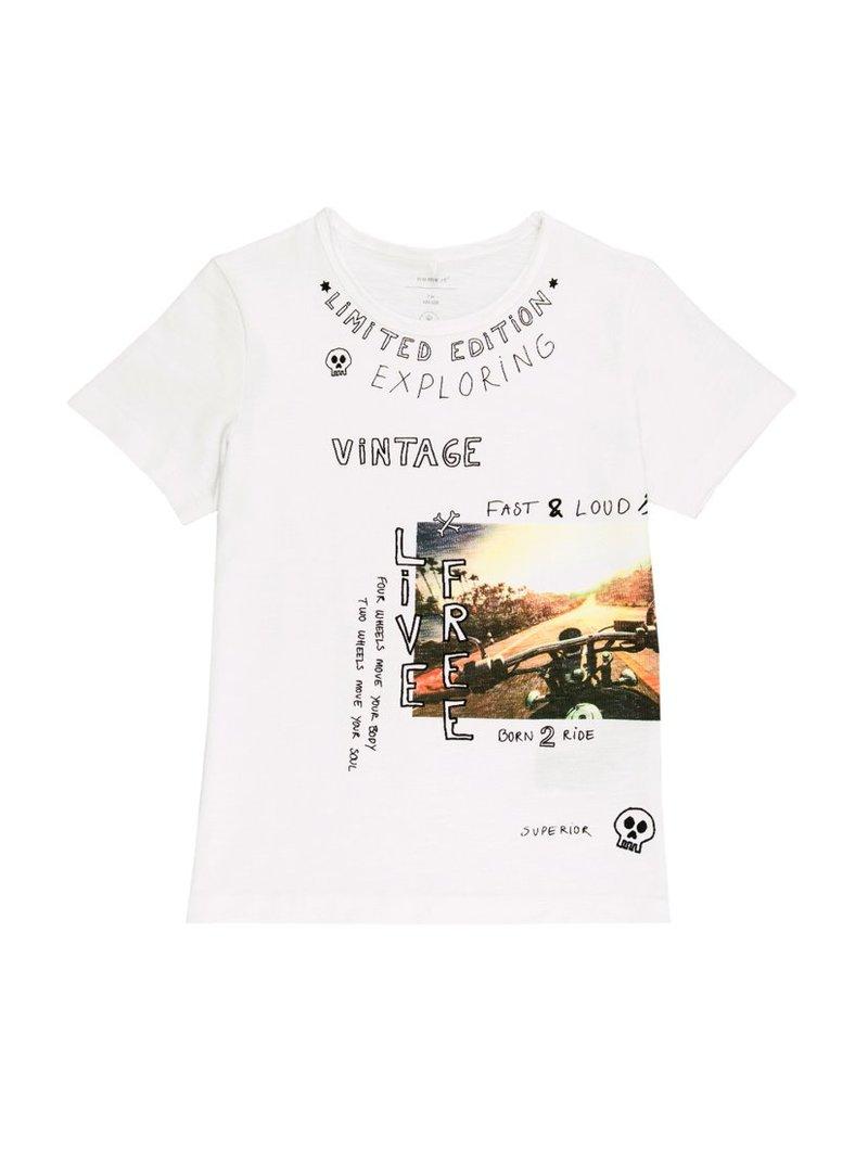 Camiseta manga corta Kids niño estampado