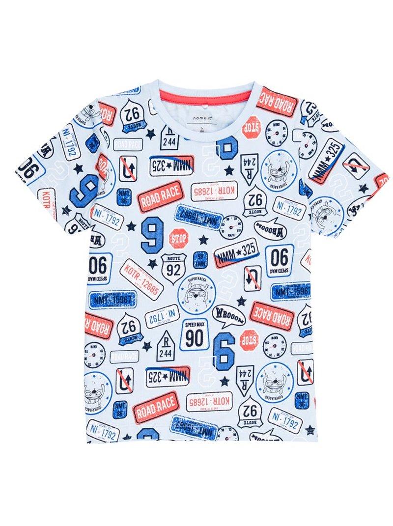 Camiseta niño estampada inspiración Road