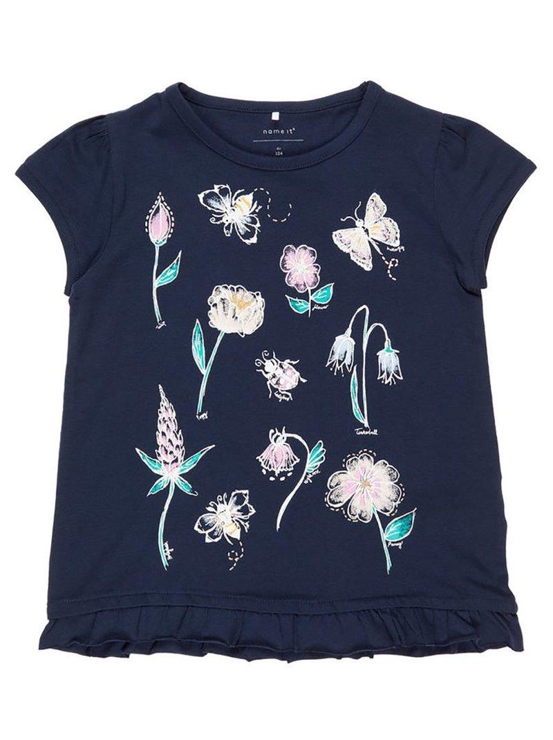Camiseta niña MINI algodón orgánico insectos