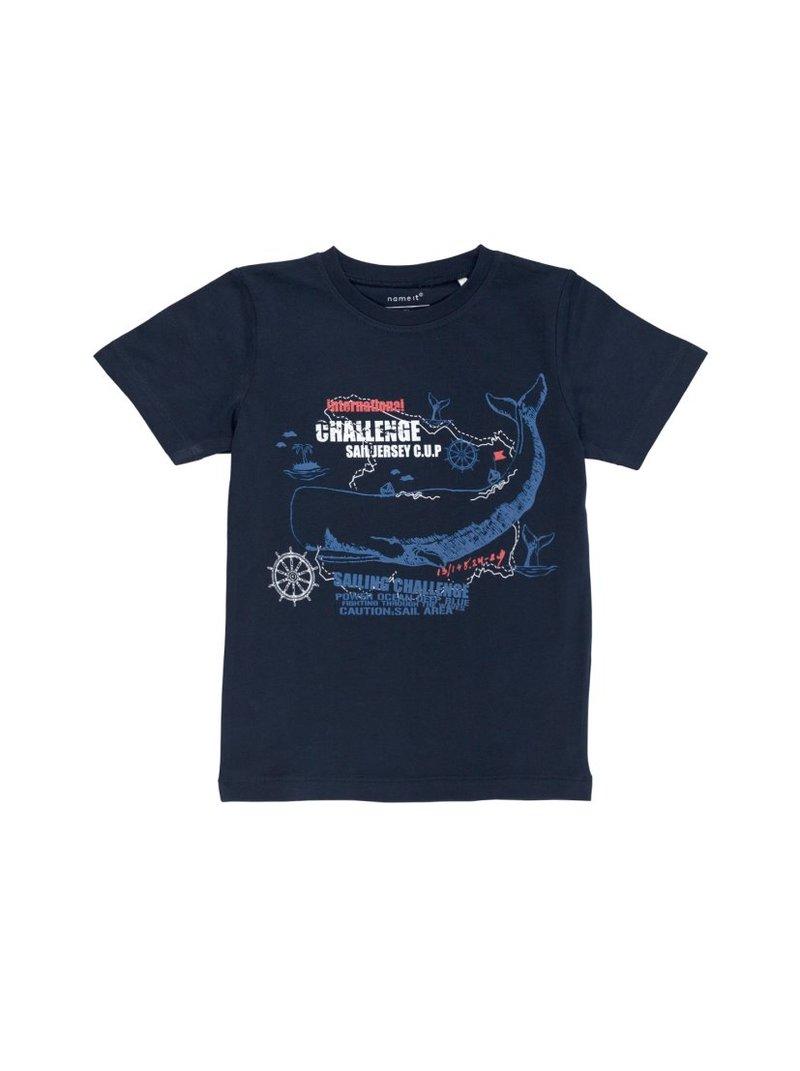 Camiseta niño manga corta marinero