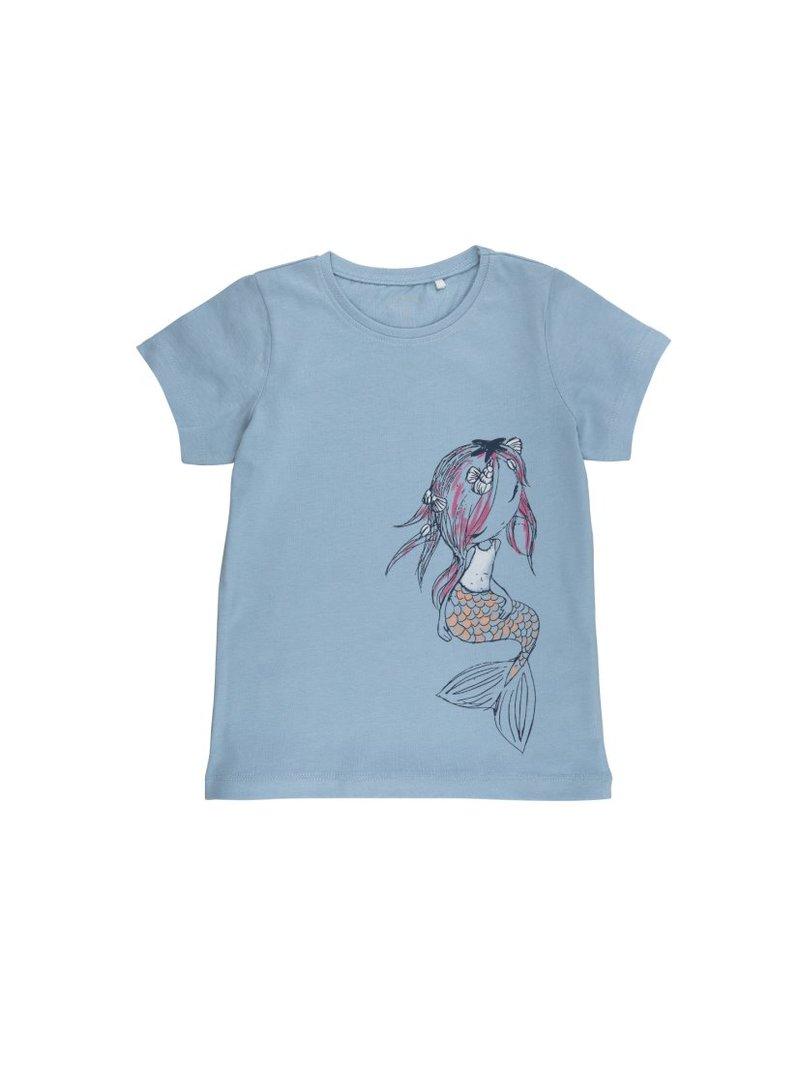 Camiseta niña MINI punto detalles del mar