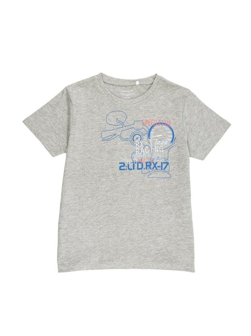 Camiseta Kids niño punto liso con estampado