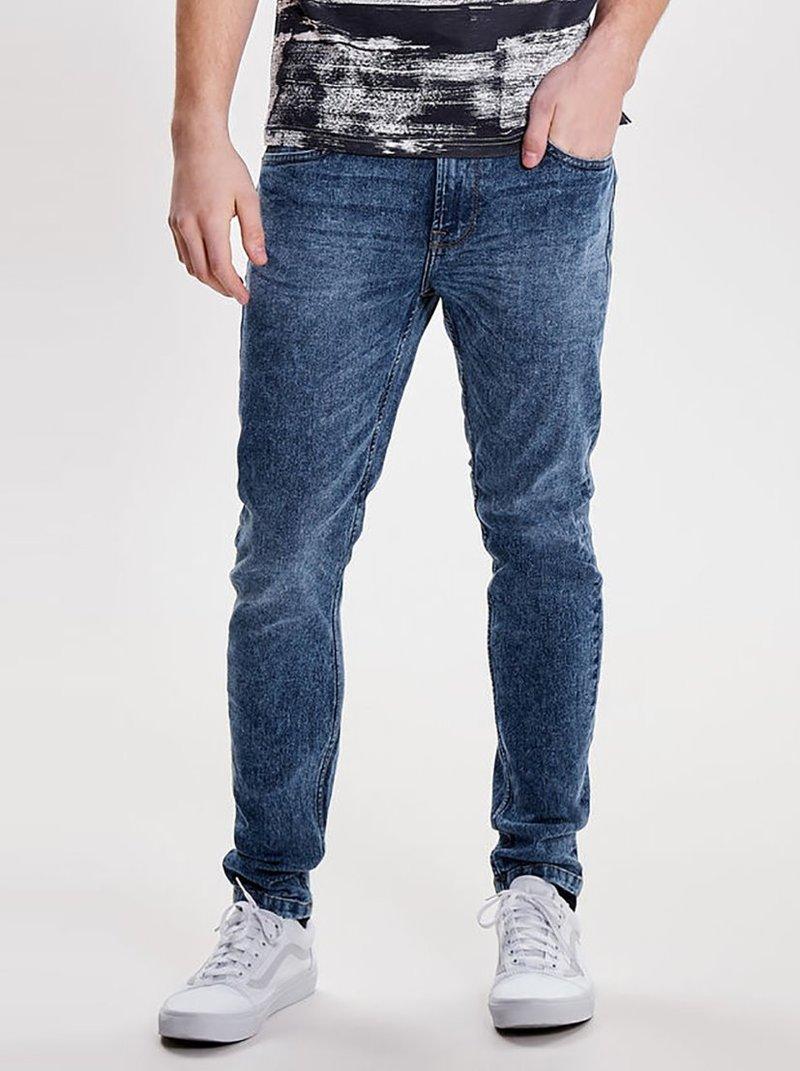 Pantalón vaquero skinny fit elástico