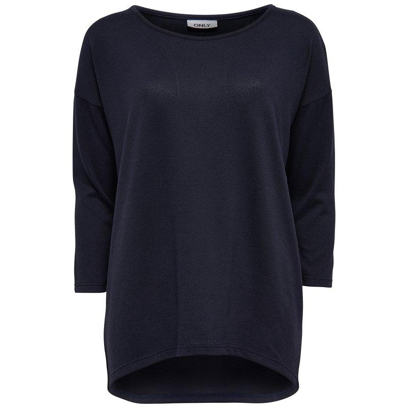 ONLY - Camiseta manga larga mujer elástica