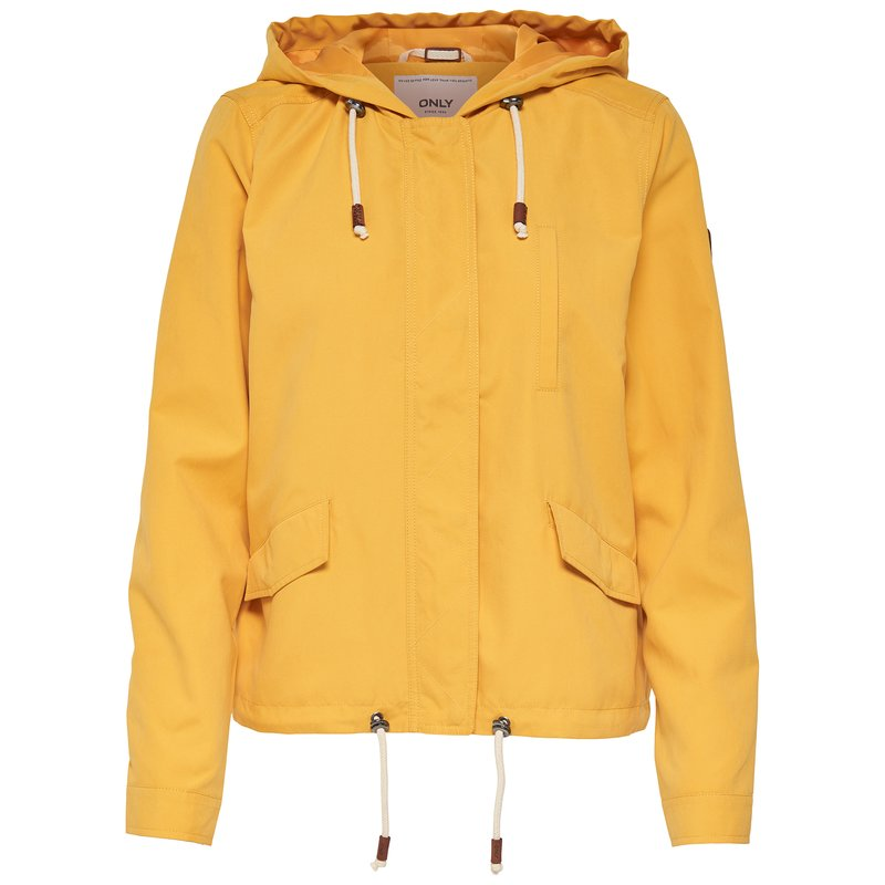 Chaqueta parka con capucha mujer ajustable - Only