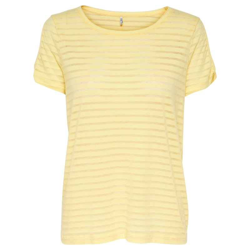 Camiseta mujer manga corta estampada - Only