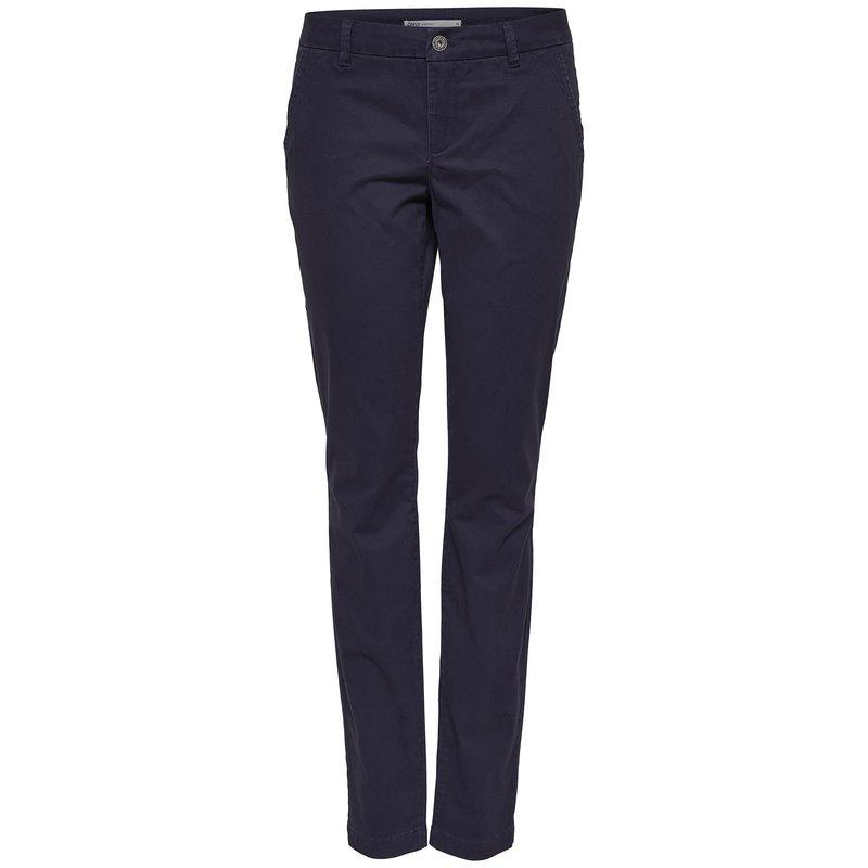 Pantalón largo mujer elástico con cremallera - Only