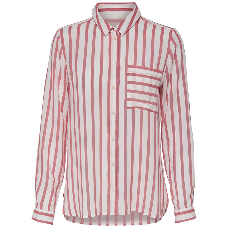 Camisa a rayas para mujer de manga larga - Only