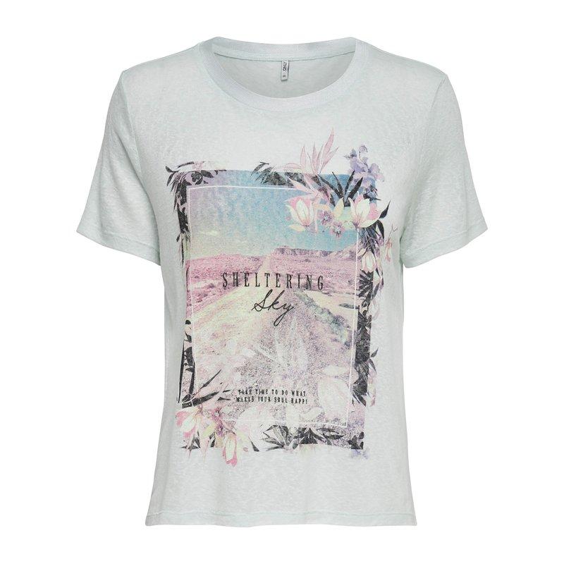 Camiseta para mujer estampado frontal - Only