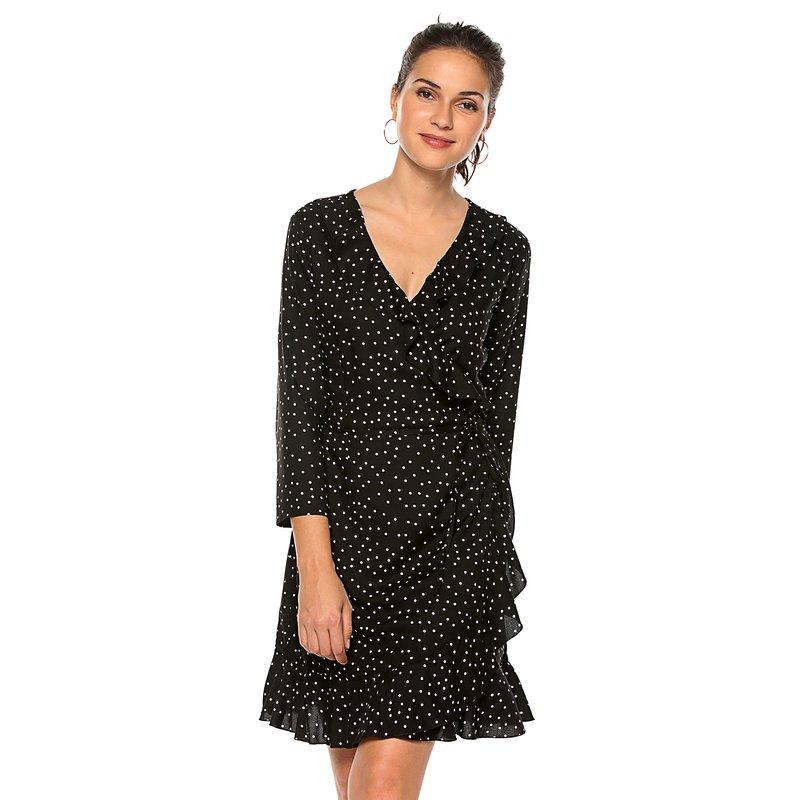 Vestido corto para mujer estampado integral - Only