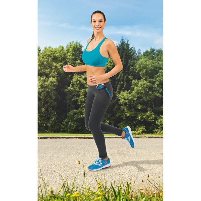 Podómetro cuenta pasos y calorías