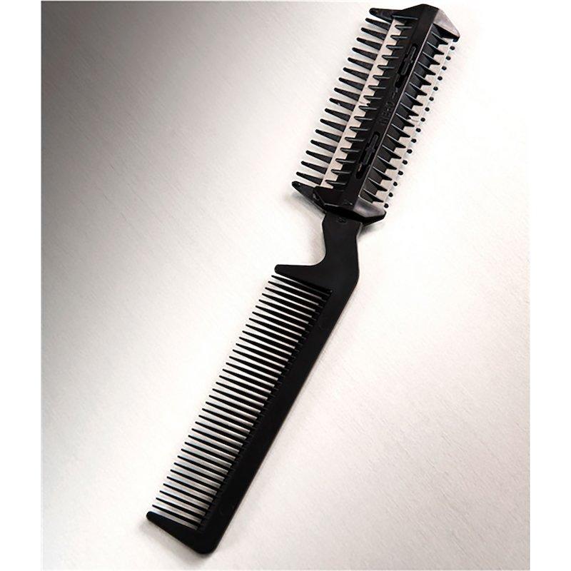 Peine 3 en 1 para peinar y cortar el cabello