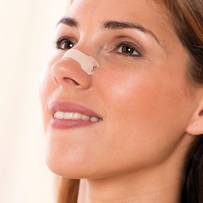 Lote 30 tiras nasales alivia respiración y ronquidos