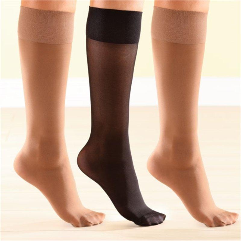 Lote 3 calcetines de compresión piernas pesadas