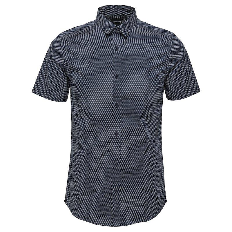 Camisa manga corta estampada