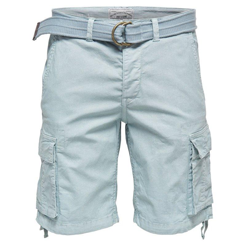 Bermudas con bolsillos y solapas