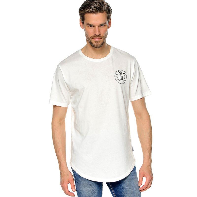 Camiseta manga corta motivo estampado