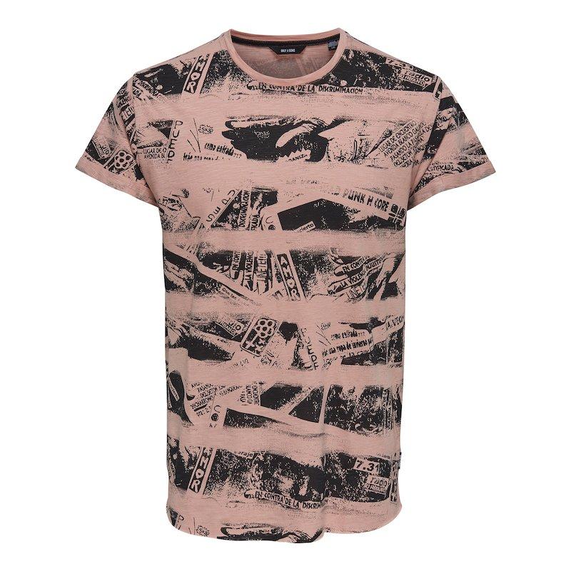 Camiseta moderno estampado