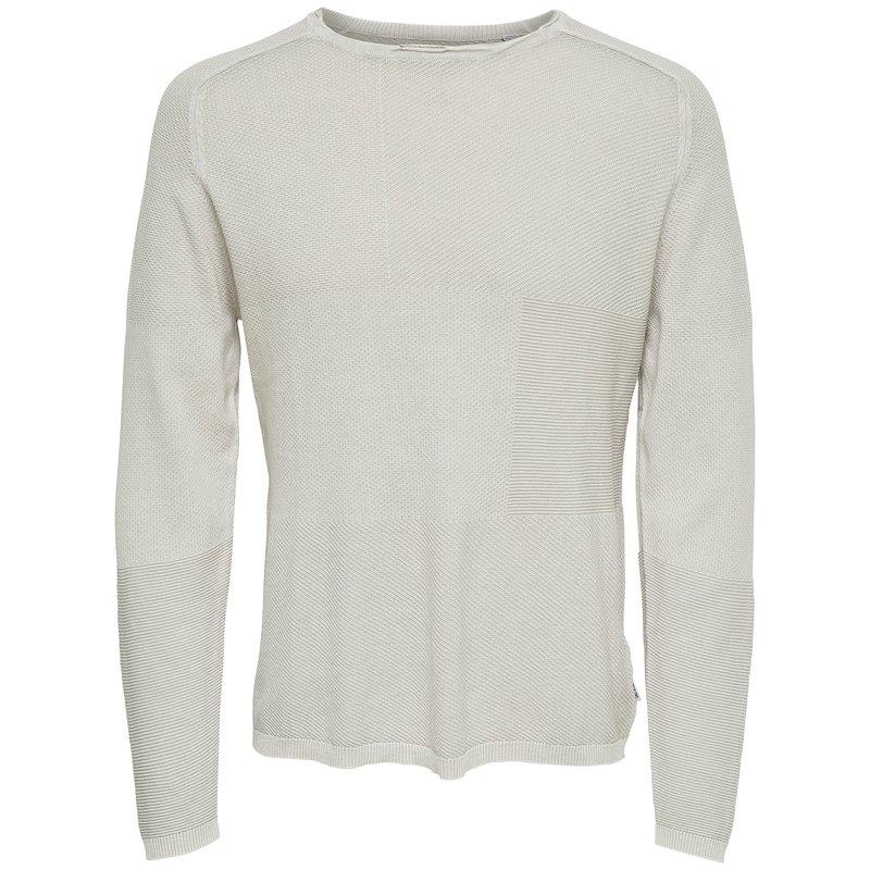 Jersey tricot punto fantasía jacquard