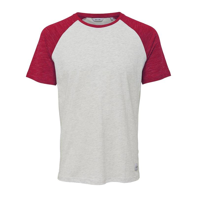 Camiseta bicolor de manga corta